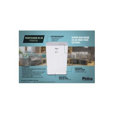 Purificador de Ar Philco PPAR01BI Branco