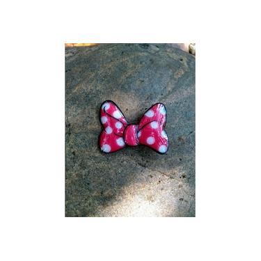 Presilha de Cabelo Infantil Lacinho Minnie Vermelho