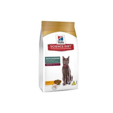 Ração Hills Para Gatos Adultos Castrados - 1,5kg