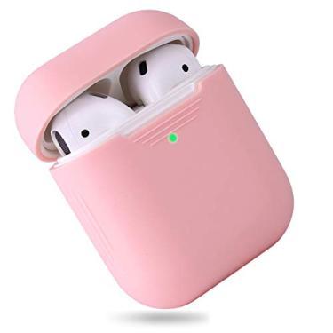 Capa/Case para Fone Apple Airpods (Rosa claro)
