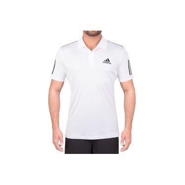 Camisa Polo Adidas Club 3STR Branca