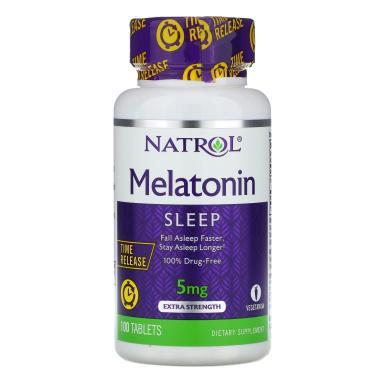 Melatonina Time Release 5mg (100 Tabs) - Natrol