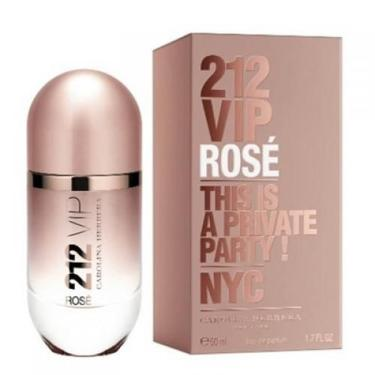 fe85f6b6d554b Perfume 212 Vip Rose 50ml Edp Feminino Carolina Herrera