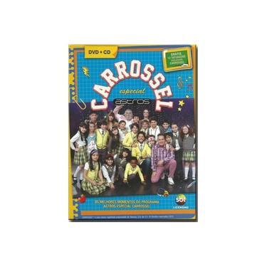 Dvd Carrossel - Carrossel Astros Esp.dvd+cd