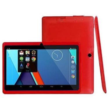 Imagem de Tablet digital com tela sensível ao toque q88, 4g, sistema android, 8gb rom, leitura, barato, frete