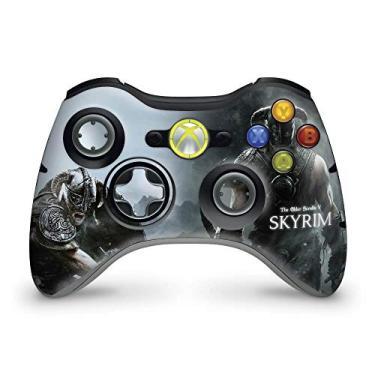 Skin Adesivo Para Xbox 360 Controle - Skyrim