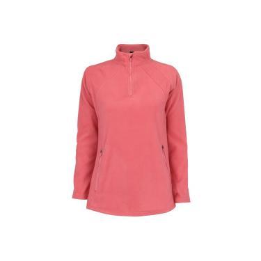f4807199b8 Blusa de Frio Fleece Nord Outdoor Basic - Feminina - Coral Nord Outdoor