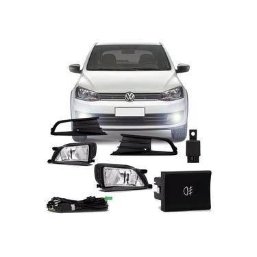 Kit Farol De Milha Completo Volkswagen Gol G6 2012 13 14 15 16 Voyage G6 2012 13 14 15 16