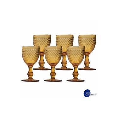 Conjunto de Taças para Agua em Vidro 255 ml com 06 Peças - Bon Gourmet