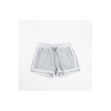 Shorts Infantil Malha Pulla Bulla Mescla/cinza 39807