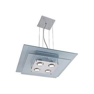 Pendente 31151 Alumínio/Vidro Vidro Transparente - Pantoja&Carmona