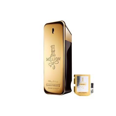 1 Million Paco Rabanne Eau de Toilette-Perfume Masculino 100ml+1 Million Lucky Paco RabanneMasculino