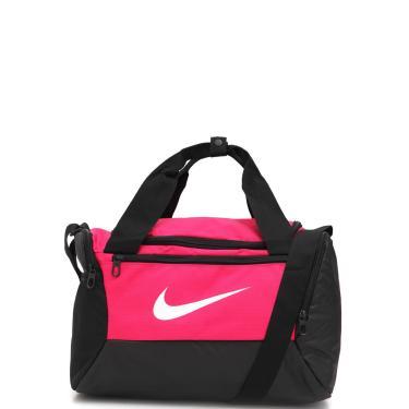 Bolsa Nike Brsla Xs Duff 9.0 Preta/Rosa Nike BA5961-666 unissex