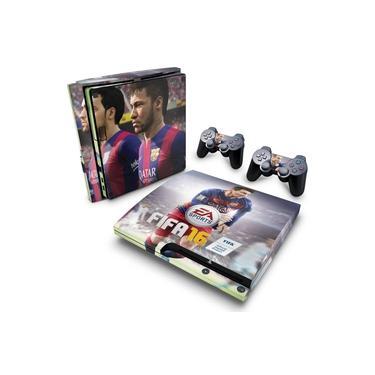 Skin Adesivo para PS3 Slim - Fifa 16