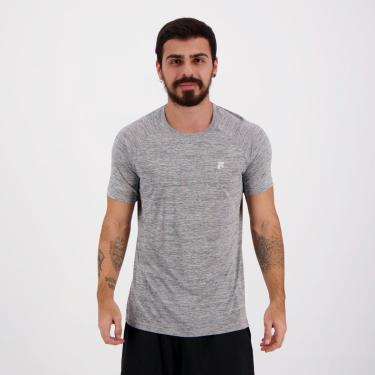 Camiseta Fila Match Cinza - M
