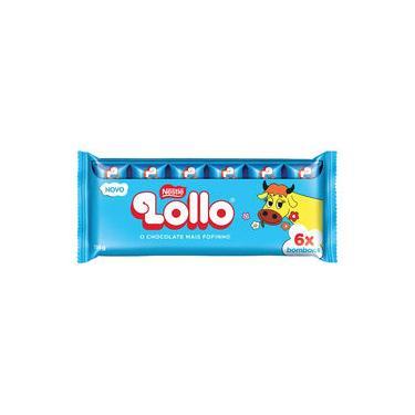 Chocolate Lollo C/6 - Nestlé