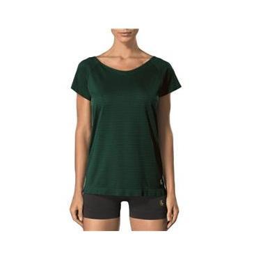 Camiseta feminina para academia e corrida - Roupa fitness Lupo 71627