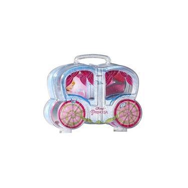 Imagem de Maleta Carruagem com kit de Maquiagem infantil Cinderela