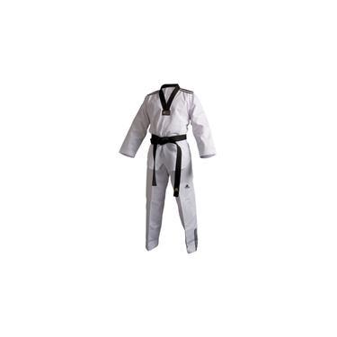 Dobok Kimono Taekwondo Gola Preta Ads Tamanho 200cm