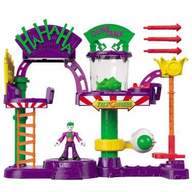 Playset e Mini Figuras - Imaginext - DC Comics - A Fábrica de Risada do Coringa - Fisher-Price