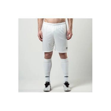 Imagem de Calção Futebol Umbro Twr Aria Branco Masculino