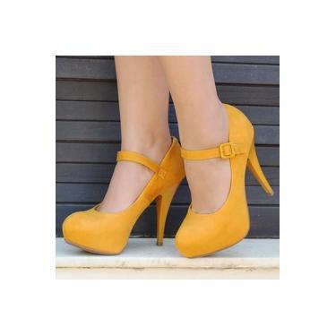 Sapato Vizzano Amarelo Feminino 1143-354-5881