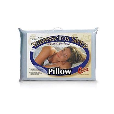 Imagem de Travesseiro Castor Sleep Pillow 100% Algodão 45x65x12cm