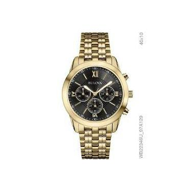 4f2ebad0870 Relógio de Pulso Bulova Resistente a àgua Cronógrafo Americanas ...
