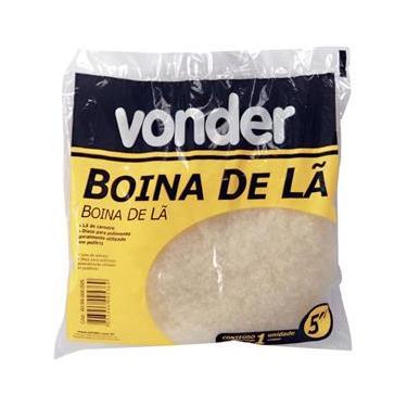 """Boina para polimento 5"""" lã de carneiro - Peça - Vonder"""