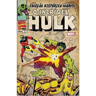 O Incrível Hulk - Volume 4. Coleção Histórica Marvel - Bill Mantlo - 9788542610321
