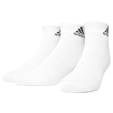 Meia Adidas Ankle Mid Thin - 3 Pares AA2320 (35)