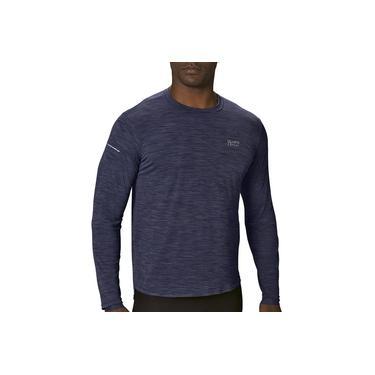 Camiseta Manga Longa Masculina Running e Training Poliamida Lupo