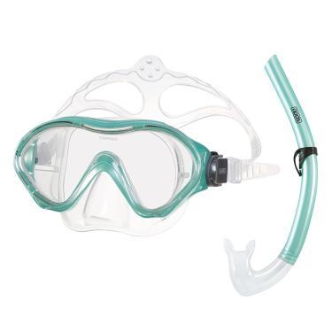 Kit Snorkel Infantil Scuba Jr Speedo - Verde Acqua