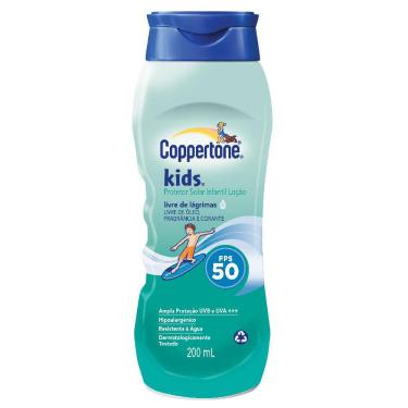 Protetor Solar Coppertone Kids Fps 50 200ml