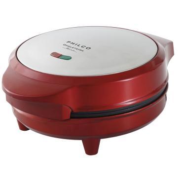 Omeleteira Retrô Pom01 Vermelho Chapa Antiaderente Philco 220V