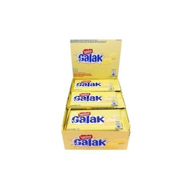 Chocolate Branco Galak Com 22 Unidades 25Gr Cada - Nestlé