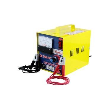 Carregador De Baterias Lento Com Auxiliar De Partida Para Motos 10a 24v Kitec-24a10c