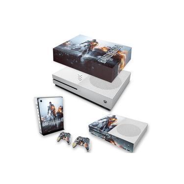 Capa Anti Poeira e Skin para Xbox One S Slim - Battlefield 4