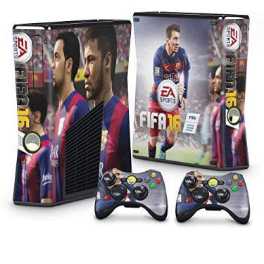 Skin Adesivo para Xbox 360 Slim - Fifa 16