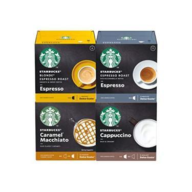 Imagem de 48 Cápsulas Dolce Gusto Starbucks – 4 Caixas - Degustação Café E Bebida