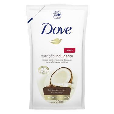 Refil Sabonete Líquido Dove Nutrição Indulgente 200ml