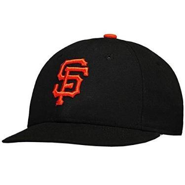 4fd17d06e7e0e Boné New Era MLB San Francisco Giants Preto e Laranja