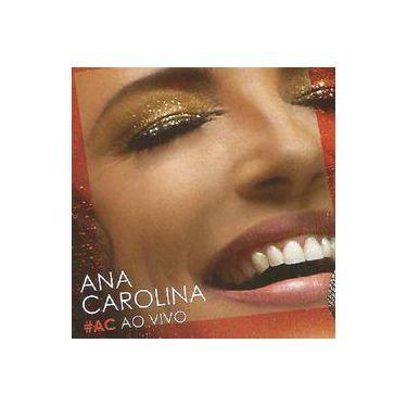 Ana Carolina #ac Ao Vivo - Cd Mpb