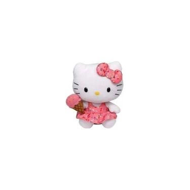 Imagem de Pelúcia Hello Kitty Com Sorvete Ty 15cm Original Dtc