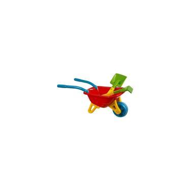 Imagem de Big carriola infantil carrinho de mão vermelha magic toys