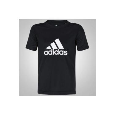 5749214af Camiseta adidas YB Gear Up - Infantil - PRETO BRANCO adidas