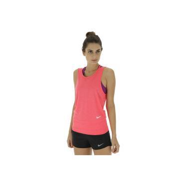 Camiseta Regata Nike Dry Tank Loose RBK - Feminina - ROSA ESCURO Nike 1a9634ab04d4b
