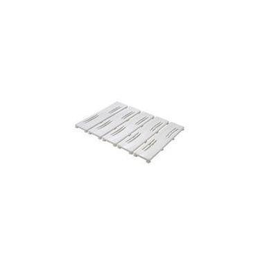 Imagem de Tapete Antiderrapante para Box 42x55cm Branco