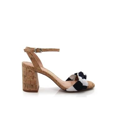 Sandália Feminina Salto Grosso Uza Shoes A15b550a0004