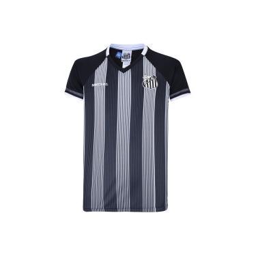 Camiseta do Santos Care - Infantil Braziline Unissex
